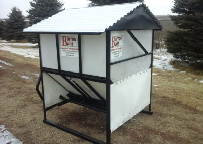double sided 42 bushel 4' Self feeder 3